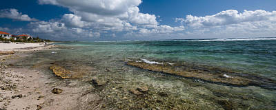 Photograph - Cayman Shoreline by Ryan Heffron