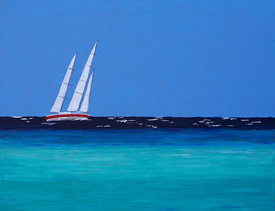 Painting - Cayo Coco Sailing by Patricia Beebe