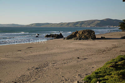 Photograph - Cayucos 8b5534 by Stephen Parker
