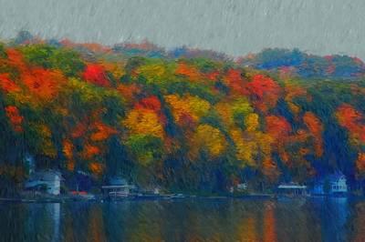 Photograph - Cayuga Autumn by David Lane