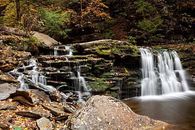 Photograph - Cayuga Falls by John Daly
