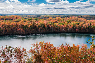 Photograph - Cuyuna Country State Recreation Area - Autumn #2 by Patti Deters