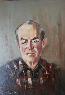 Painting - Caz by Len Stomski