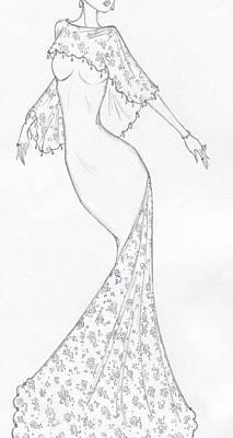 Drawing - Cb43 by Christine Corretti