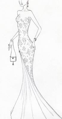 Drawing - Cb46 by Christine Corretti