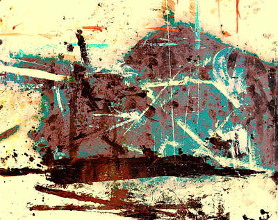 Mixed Media - Accidental Abstract 3 by M Diane Bonaparte