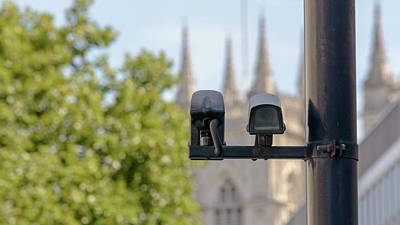 Photograph - Cctv Camera In London by Jacek Wojnarowski