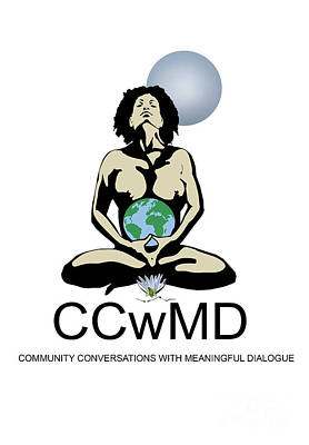 Painting - Ccwmd Logo White Background by Reggie Duffie