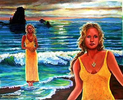 Cd Cover  The Painter Art Print by Sandra Longmore