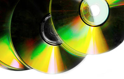 Photograph - Cd Spectrum by Diana Angstadt