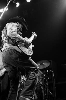 Photograph - Cdb Winterland 12-13-75 #29 by Ben Upham