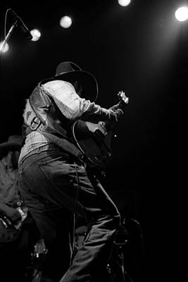 Photograph - Cdb Winterland 12-13-75 #30 by Ben Upham