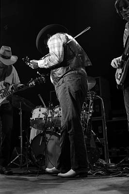 Photograph - Cdb Winterland 12-13-75 #41 by Ben Upham