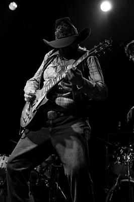 Photograph - Cdb Winterland 12-13-75 #51 by Ben Upham