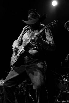 Photograph - Cdb Winterland 12-13-75 #51 Enhanced Bw by Ben Upham