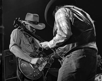 Photograph - Cdb Winterland 12-13-75 #54 Crop 2 by Ben Upham