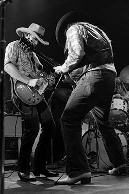 Photograph - Cdb Winterland 12-13-75 #55 by Ben Upham