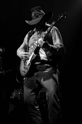Photograph - Cdb Winterland 12-13-75 #59 by Ben Upham