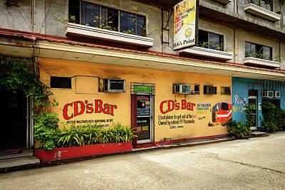 Bar San Miguel Photograph - Cd's Bar  by Michael Scott