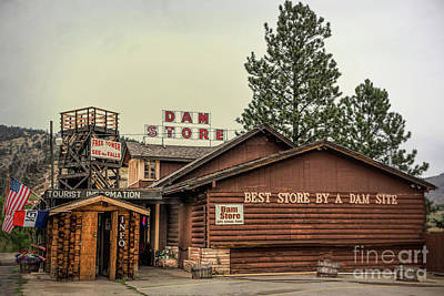 Photograph - Dam Store by Lynn Sprowl