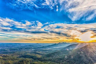 Caesars Head State Park Photograph - Caesar's Head State Park 1 by Gestalt Imagery
