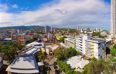 Photograph - Cebu City Mountain View Panorama by James BO Insogna