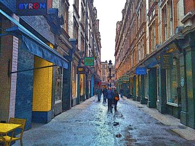 City Photograph - Cecil Court by Steven Richman