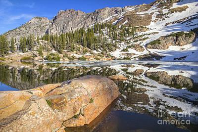 Photograph - Cecret Lake by Spencer Baugh