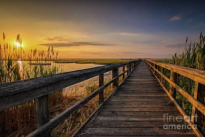 Photograph - Cedar Beach Pier, Long Island New York by Alissa Beth Photography