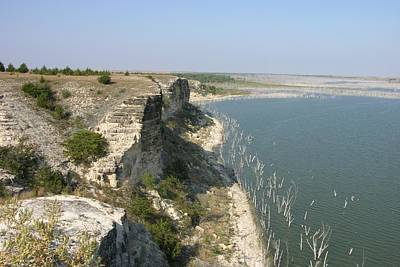 Photograph - Cedar Bluffs State Park - Western Kansas by Keith Stokes