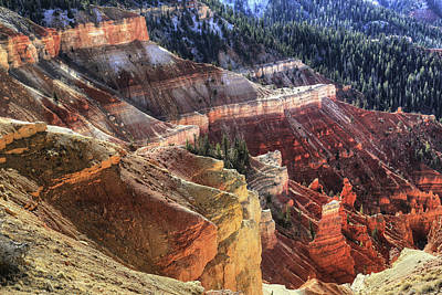 Photograph - Cedar Breaks Amphitheatre by Donna Kennedy