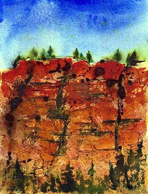 Painting - Cedar Breaks by Anne Duke