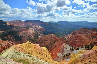Photograph - Cedar Breaks National Monument by Ray Mathis