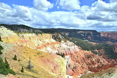 Photograph - Cedar Breaks Panorama by Ray Mathis