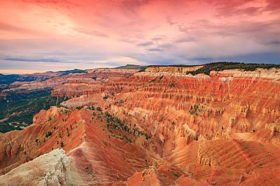 Photograph - Cedar Breaks Sunset. by Johnny Adolphson