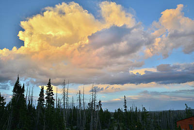 Photograph - Cedar Breaks Thunderheads by Ray Mathis