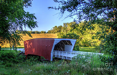 Photograph - Cedar Bridge  by Thomas Danilovich
