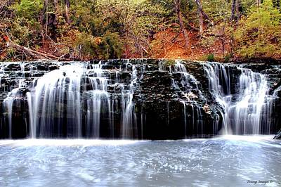 Photograph - Cedar Creek Falls, Kansas by Wesley Nesbitt