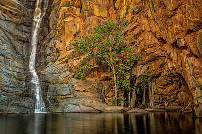 Photograph - Cedar Creek Falls by Peter Tellone