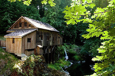 Photograph - Cedar Creek Grist Mill by Craig Strand