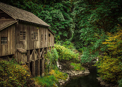 Photograph - Cedar Creek Grist Mill by Don Schwartz