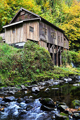 Photograph - Cedar Creek Grist Mill II by Athena Mckinzie