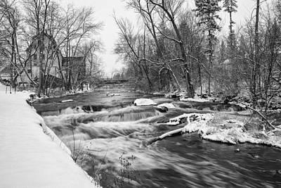 Cedar Creek Mill Art Print by Jeff Klingler