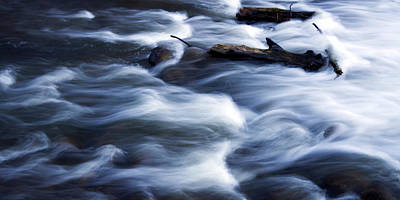 Photograph - Cedar Creek Rapids by David Ralph Johnson