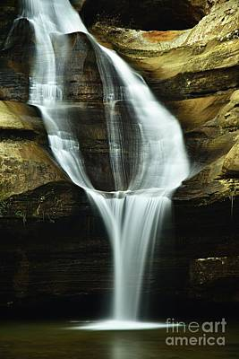 Photograph - Cedar Falls Closeup by Larry Ricker