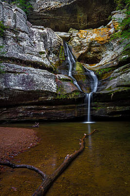 Photograph - Cedar Falls In Hocking Hills State Park by Ron Pate
