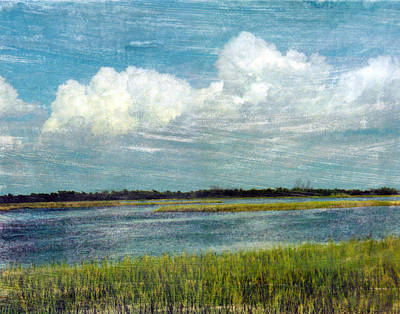Mixed Media - Cedar Key 1 by Bob Senesac
