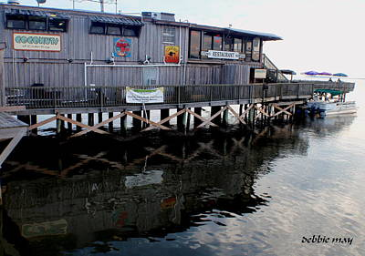 Cedar Key-coconuts Bar N Fine Dining Original by Debbie May