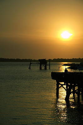Photograph - Cedar Key Sunset 4 by Kathi Shotwell