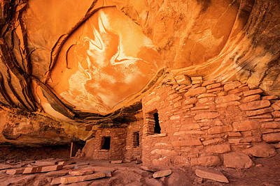 Keith Richards - Cedar Mesa Ruins by Johnny Adolphson